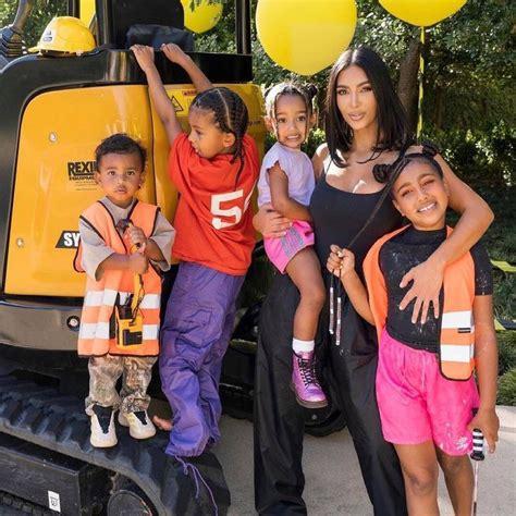 Kim Kardashian Shares Adorable Family Photos From Psalm ...