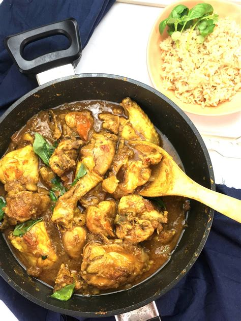 mauritian chicken curry easy curry recipe