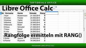 Excel Prozentualen Anteil Berechnen : die rangfolge ermitteln mit der funktion rang libreoffice calc toptorials ~ Themetempest.com Abrechnung