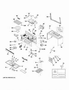 Ge Jvm6175sf1ss Microwave  Hood Combo Parts