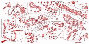 Front Bulkhead  Dashboard For Honda Cars Civic 1 8 Type S 3