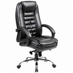 Alpha, High, Back, Executive, Leather, Office, Chair, From, Our, Office, Chairs, Range