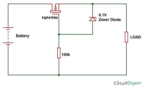 Reverse Polarity Protection Circuit Using Diode