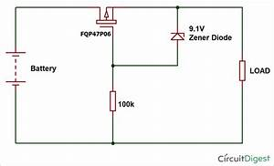 Reverse Polarity Protection Circuit Using Diode Or P