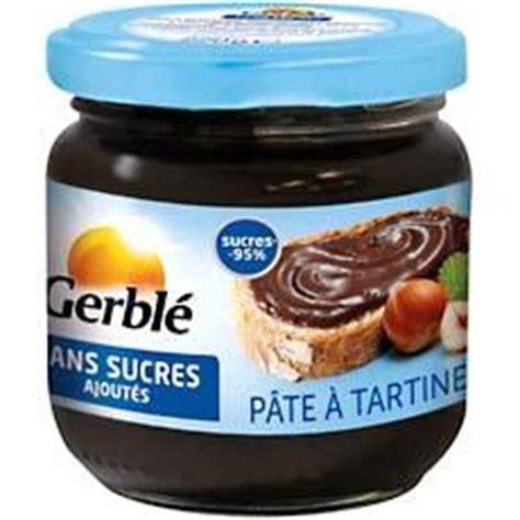 pate a tartiner au chocolat sans sucre ajoute gerble 220g