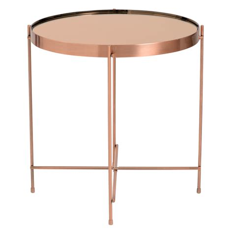 copper side table property modern end tables copper side table eurway