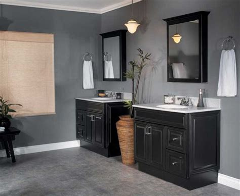 black bathrooms ideas bathrooms with black vanities ideas home design