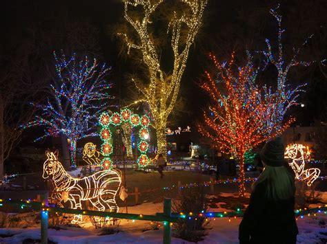Hogle Zoo Lights by Salt Lake City During The Season Keith And