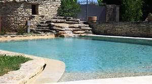 Piscine Avec Cascade : piscine avec cascade piscines logintec ~ Premium-room.com Idées de Décoration
