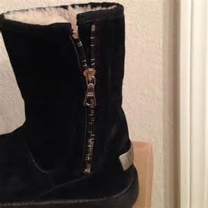 womens ugg boots side zipper ugg black side zipper uggs from helena 39 s closet on poshmark