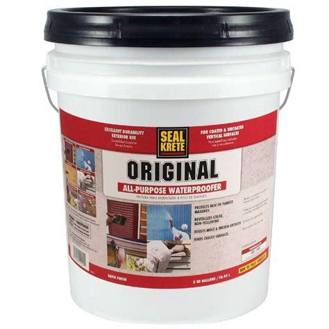waterproof floor sealer basement waterproofing sealer smalltowndjs com