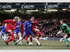 Capital One Cup SemiFinal; Liverpool vs Chelsea