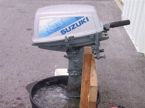 Suzuki Outboards For Sale by Used Suzuki 8hp Outboard Boat Motor For Sale