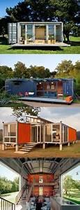 Container Mit Glasfront : container haus auf 2 etagen bauen containerhouse pinterest haus design und container ~ Indierocktalk.com Haus und Dekorationen