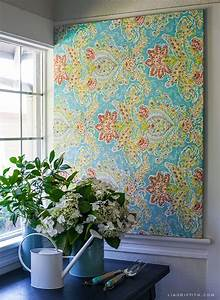 Best ideas about fabric wall art on