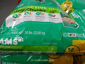 Iams mini chunks dog food for Costco iams dog food