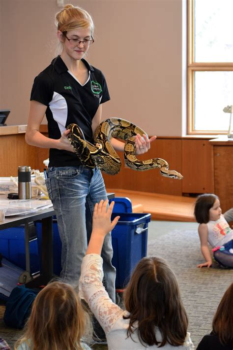 snake discovery hudson area public library