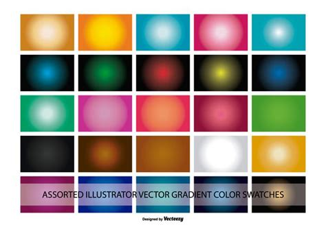illustrator background color illustrator gradient color swatches free vector