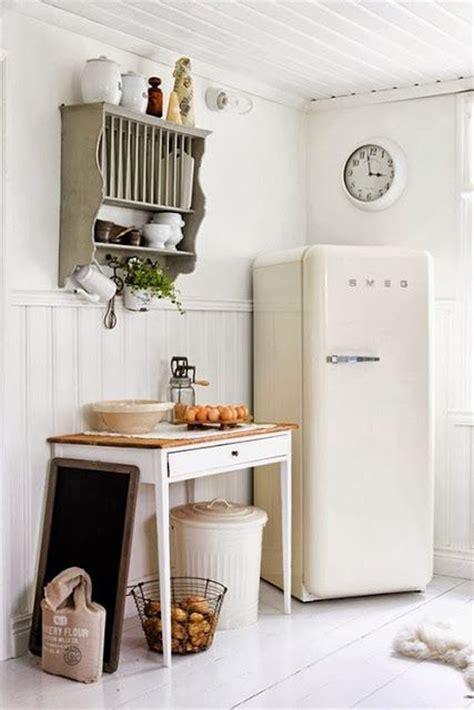 retro smeg fridges  small kitchens homemydesign