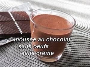 Creme Chocolat Sans Oeuf : mousse au chocolat sans oeufs sans cr me la magie du ~ Nature-et-papiers.com Idées de Décoration