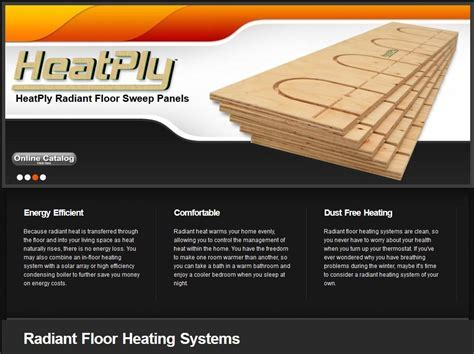 Radiant Heating Systems   Radiant Floor Heating   HeatPly®