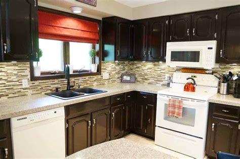gel stain  kitchen cabinets update  years
