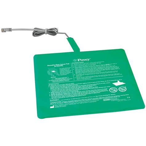 posey six month reusable chair sensor pad alarm sensors
