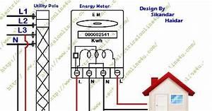 Single Phase Kwh Meter Connection Guide In Urdu  U0026 Hindi