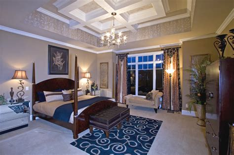 custom master bedrooms drawn  studer residential designs