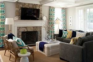 24 gray sofa living room designs decorating ideas for Living room color ideas with grey couches