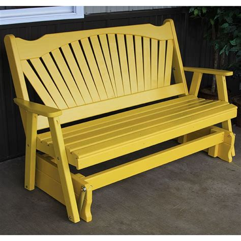 porch furniture our amish crafted patio glider brands