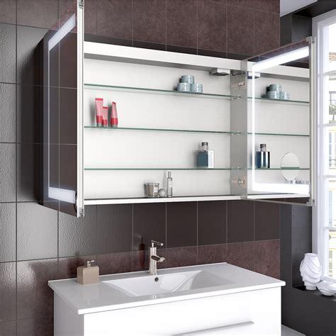 armadietto per bagno armadietto specchio bagno bagno armadietto specchio led 80