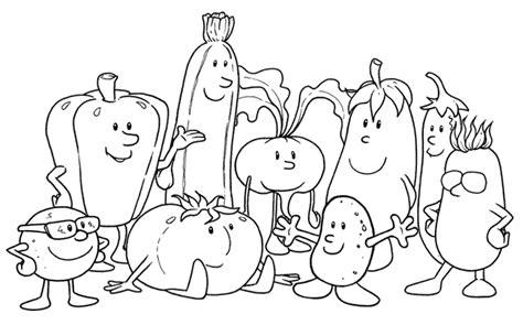 disegni da colorare frutta e verdura midisegni