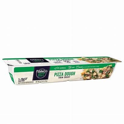 Pizza Pillsbury Dough Thin Crust Heb Biscuit