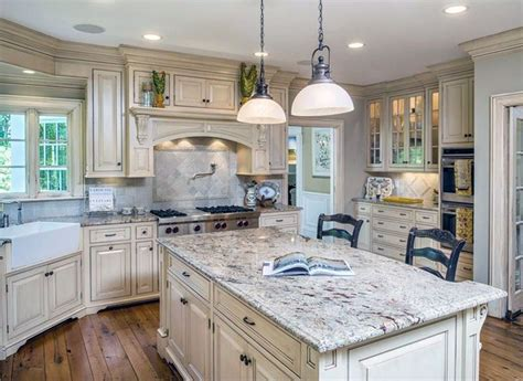 gorgeous white country kitchens pictures country