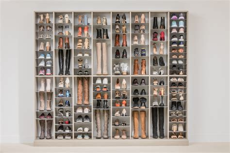 adjustable shoe organizer easyclosets