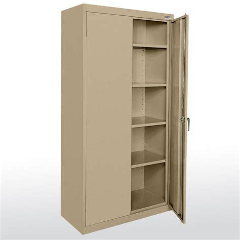 metal storage cabinets sandusky cabinets ca41361872 classic plus series storage