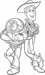Free woody the cowboy coloring pages