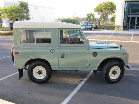 Buy Used 1972 Land Rover Series Iii In San Marcos