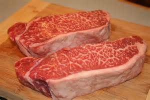 new york steak cook with susan perfectly marbled new york strip steaks