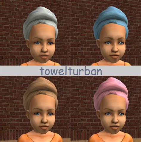 Mod The Sims Towelturban Conversion Mesh Made