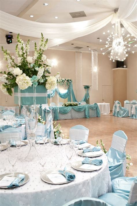 tiffany blue quinceanera images  pinterest