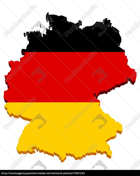 deutschlandkarte  stockfoto  bildagentur