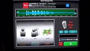 Ipad App Review - Voice Changer Plus