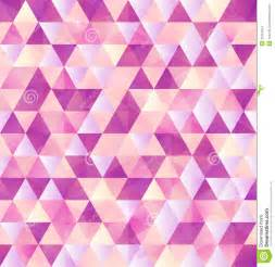 Abstract Triangles Background Pattern Pink