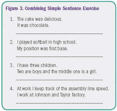 combine sentences lincs