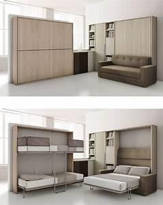 quelques solutions pour amenager vos petits espaces lit With beautiful meuble gain de place cuisine 3 petits espaces les 20 meubles gain de place de la