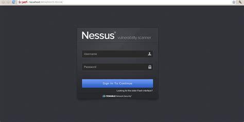 Nessus Web by Nessus Scanner De Vulnerabilidades Inseguridad