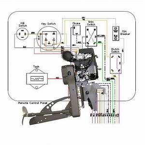 Wiring Diagram Sport Merc 4000  5000  6000 Remote Steer