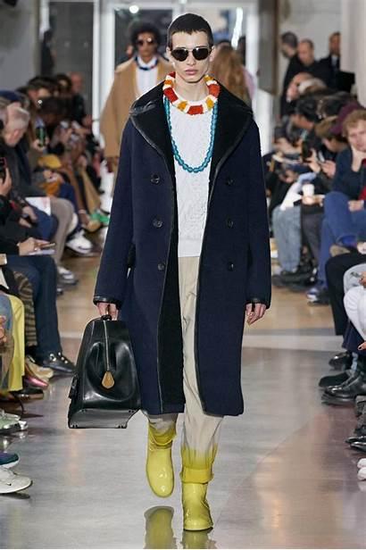 Fall Lanvin Winter Looks Vogue Mens Menswear